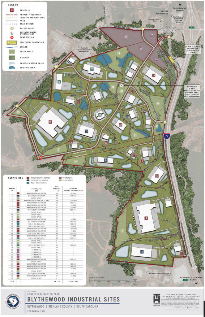 Blythewood Business Park shows county's competitive focus