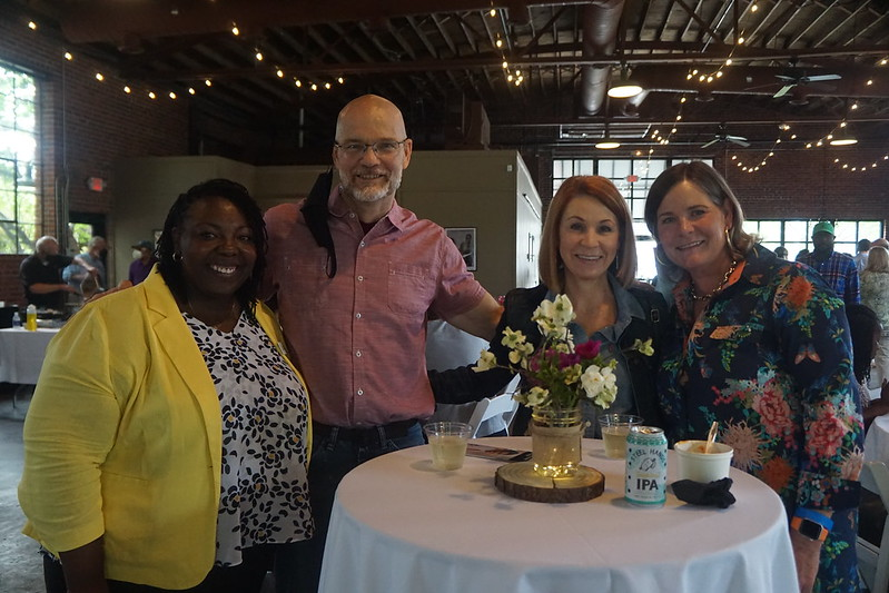 Tanika Epps, Executive Director of CISM, Tim and Kim Werts, Wendy Schmoyer